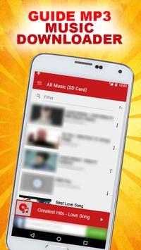 Downloader Mp3 Guide apk screenshot