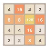 2048 puzzle game icon
