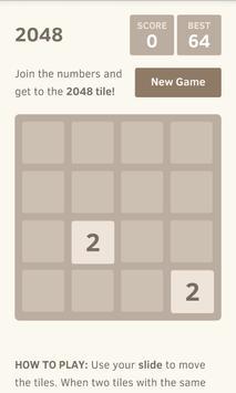 2048 puzzle game screenshot 6