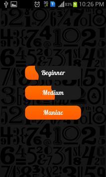 Number Mania apk screenshot
