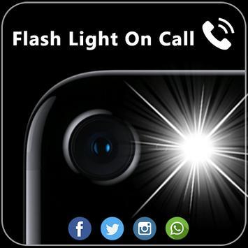 Flashlight on Call & SMS screenshot 1