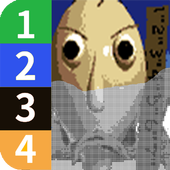 Color by Number - Baldi's Basics Pixel Art icon