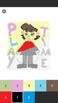 Color by Number - Baldi's Basics Pixel Art screenshot 2