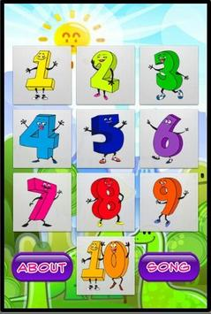Numbers For Kids poster