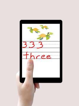 تعليم الارقام الانجليزية Learning Numbers For Kids screenshot 3