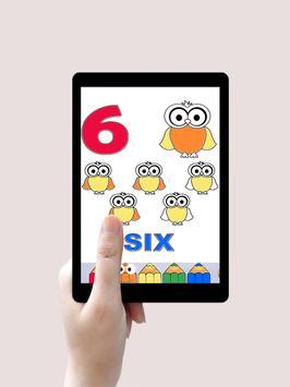 تعليم الارقام الانجليزية Learning Numbers For Kids screenshot 4