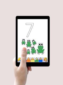 تعليم الارقام الانجليزية Learning Numbers For Kids screenshot 5