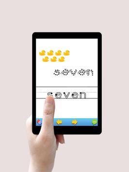 تعليم الارقام الانجليزية Learning Numbers For Kids screenshot 6
