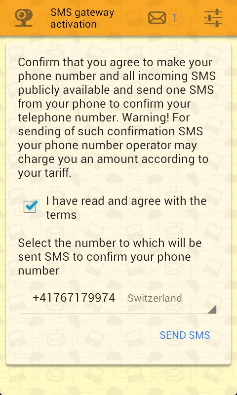 Numbers for sms verification for Android - APK Download