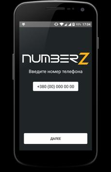 Numberz poster