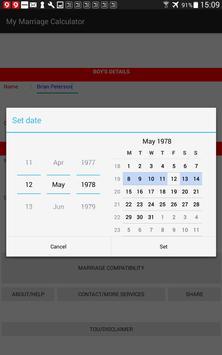My Marriage Calculator apk screenshot
