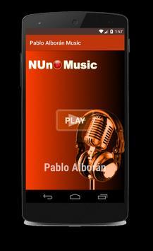 Pablo Alboran Musica poster