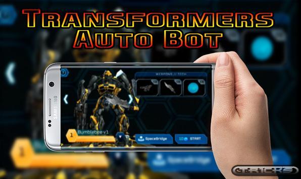 New Tips Transformers Auto Bot apk screenshot