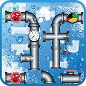 Connect Pipe Lines icon
