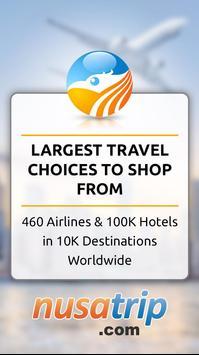 NusaTrip : Flight & Hotel Booking poster