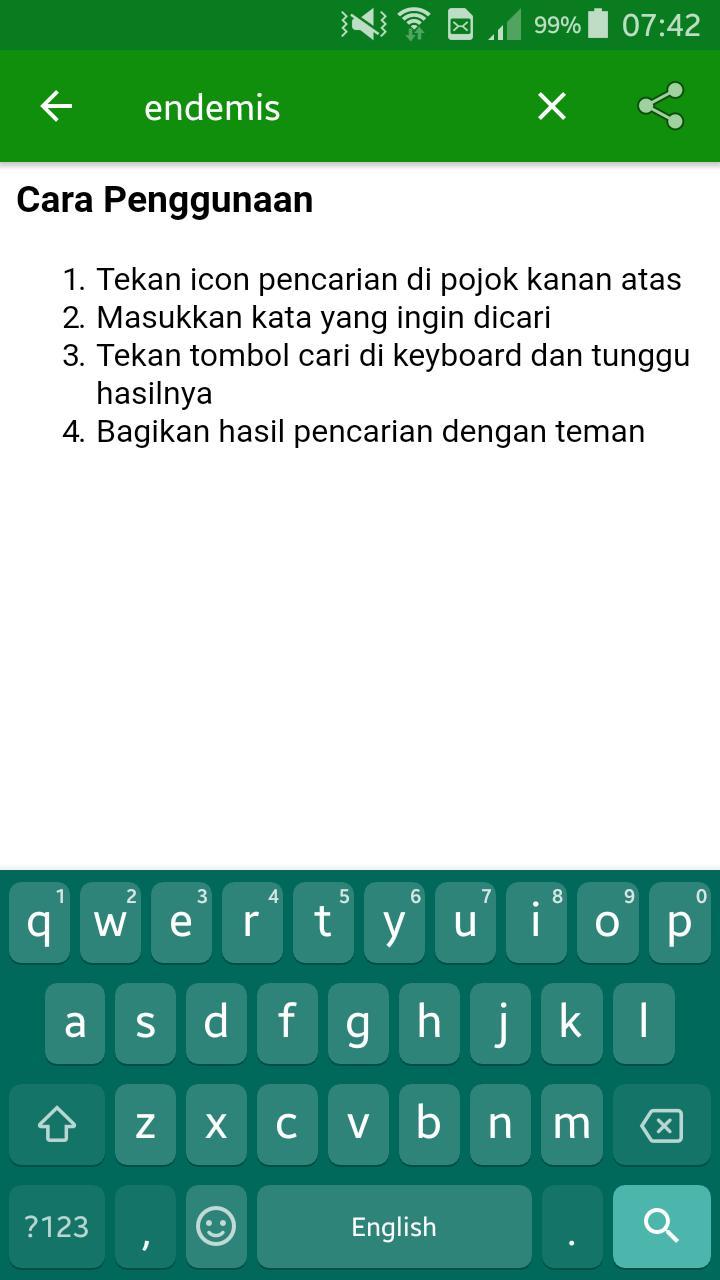Kamus Arti Kata Bahasa Indonesia Fur Android Apk Herunterladen