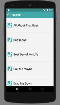 Kidz Bop Songs Full apk screenshot