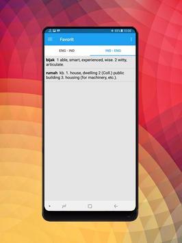 Kamus Bahasa Inggris Indonesia Digital screenshot 12