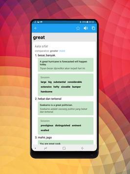 Kamus Bahasa Inggris Indonesia Digital screenshot 2