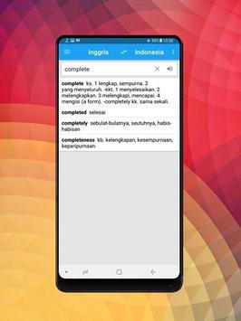 Kamus Bahasa Inggris Indonesia Digital screenshot 7