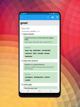 Kamus Bahasa Inggris Indonesia Digital screenshot 9