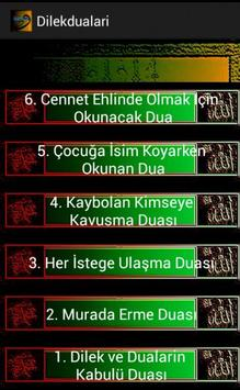 DİLEK DUALARI screenshot 1