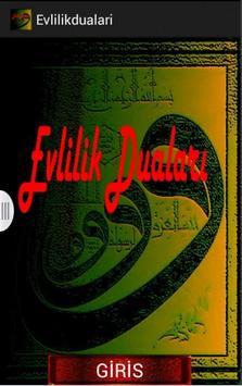 EVLİLİKTE MUTLULUK  DUALARI poster