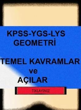 KPSS-YGS-GEOMETRİ- AÇILAR-KVRM poster