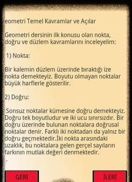 KPSS-YGS-GEOMETRİ- AÇILAR-KVRM apk screenshot
