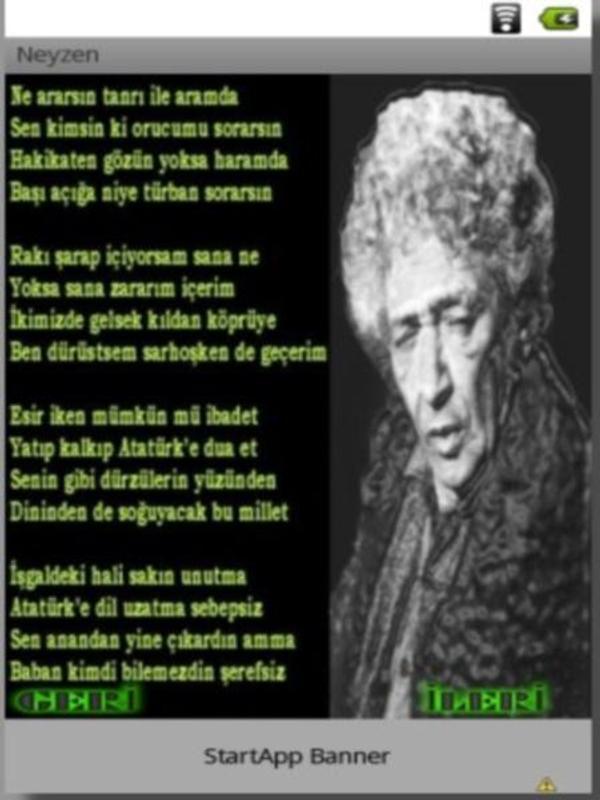 Neyzen Tevfik Süper şiirleri For Android Apk Download