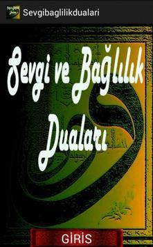 SADAKAT SEVGİ BAĞLILIK DUALARI poster
