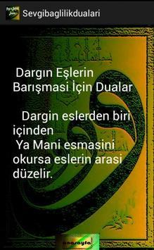 SADAKAT SEVGİ BAĞLILIK DUALARI screenshot 3