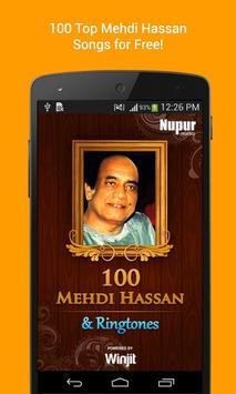 100 Top Mehdi Hassan Ghazals & Ringtones poster