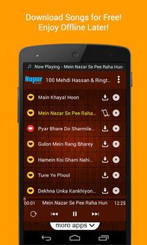 100 Top Mehdi Hassan Ghazals & Ringtones screenshot 1