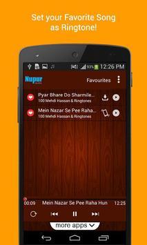 100 Top Mehdi Hassan Ghazals & Ringtones screenshot 2