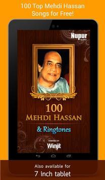 100 Top Mehdi Hassan Ghazals & Ringtones screenshot 4