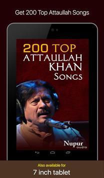 200 Top Attaullah Khan Songs screenshot 4