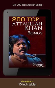 200 Top Attaullah Khan Songs screenshot 3