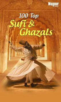 100 Top Sufi & Ghazals poster