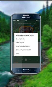 Master Kicau Murai Batu Mp3 screenshot 5