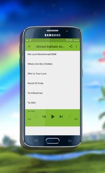 Ahmed Bukhatir Anasheeds 2017 apk screenshot