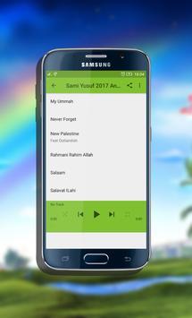 Sami Yusuf 2018 Anasheed Mp3 apk screenshot