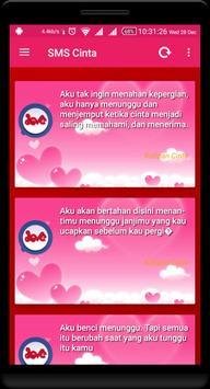SMS Cinta screenshot 2