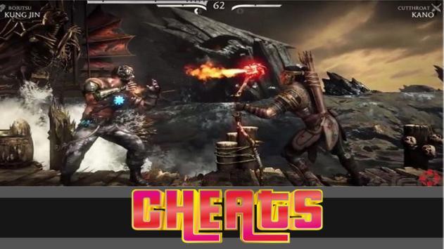 Cheat for -Mortal Kombat X 2k17 screenshot 2