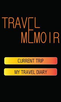 Travel Memoir poster