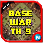 Base Design War TH 9 icon