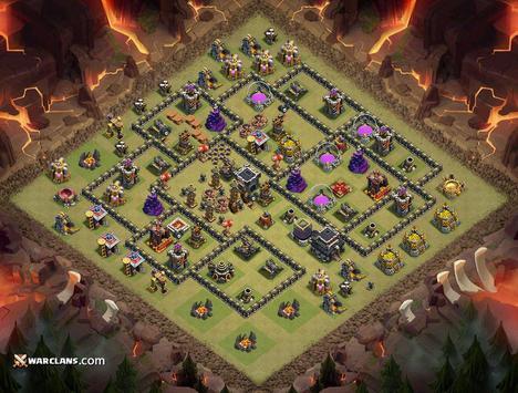 Base Design War TH 9 apk screenshot