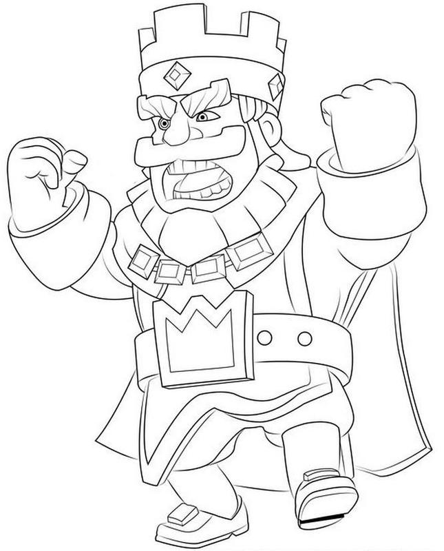 How to draw clash royale الملصق