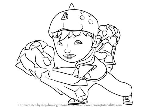 How To Draw Boboiboy Screenshot 3