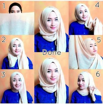 tutorial hijab 2017 apk screenshot